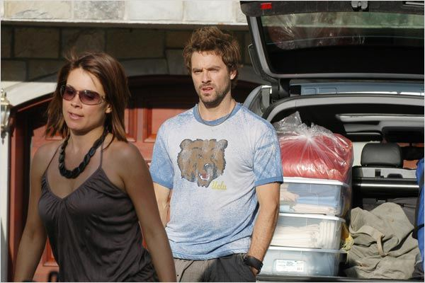 Julie Perreault et Guillaume Lemay-Thivierge dans Les 3 ptits cochons (©Christal Films)
