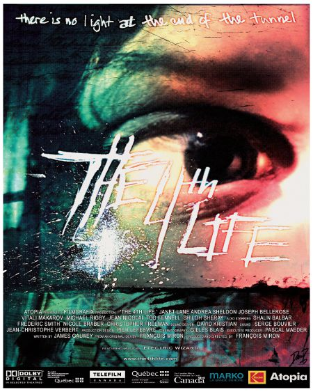 Affiche du film The 4th Life de François Miron