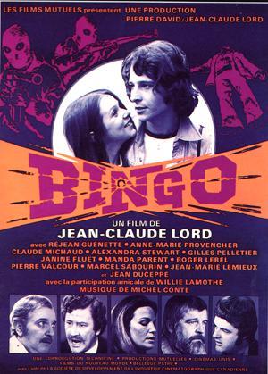 Affiche du film Bingo de Jean-Claude Lord