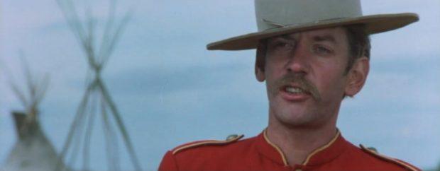 Donald Sutherland dans le film Alien Thunder de Claude Fournier