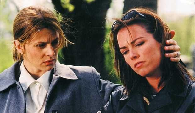 Image des comédiennes Nastassja Kinski et Maxim Roy dans Blind Terror de Giles Walker (Coll. filmsquebec.com)