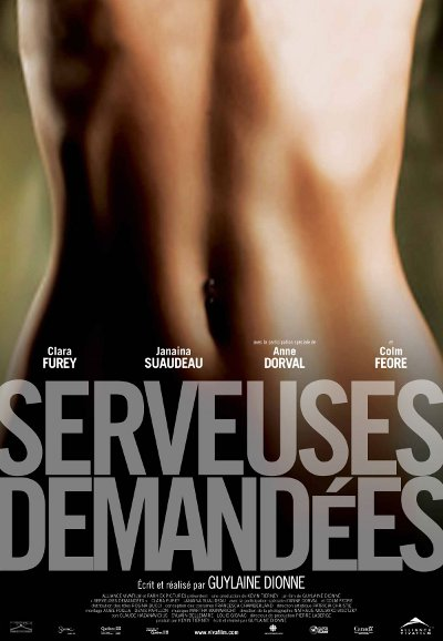 Affiche du film Serveuses demandees