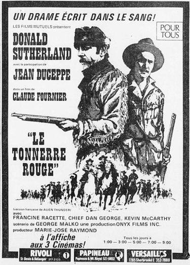 """Encart La Presse """"Le Tonnerre rouge"""""""