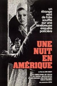 Affiche du film Une nuit en Amérique de Jean Chabot (1974, ACPAV)