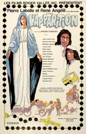 Affiche du film L'apparition (Roger Cardinal)
