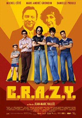 Affiche du film C.R.A.Z.Y. de Jean-Marc Vallée (2005 - Cirrus - TVA Films)