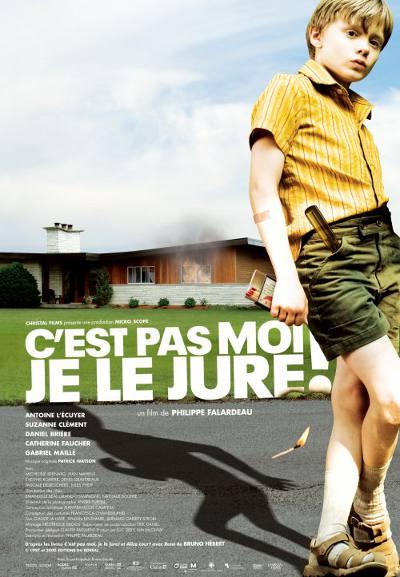 Affiche du Film C'est pas moi, je le jure! (Philippe Falardeau 2008, ©Christal Films)
