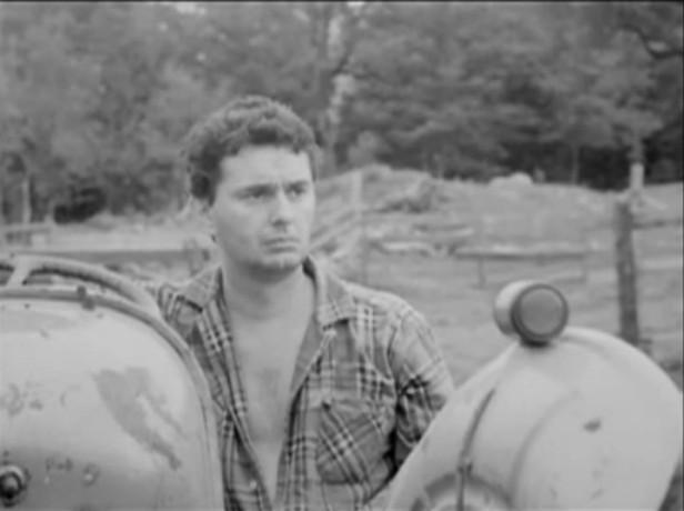 Image du comédien Guy Godin dans le film La corde au cou (Pierre Patry, 1965)