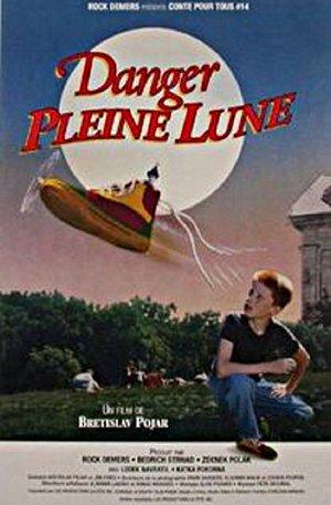 Affiche du film Danger pleine lune