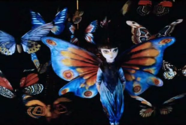 La fée-papillon Ourougou dans Danger pleine lune (image tirée du film - Collection filmsquebec.com)