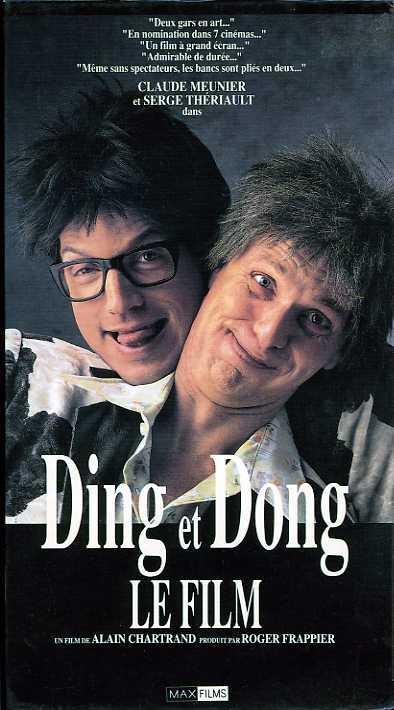 Image de la couverture de la VHS de Ding et Dong le film d'Alain Chartrand