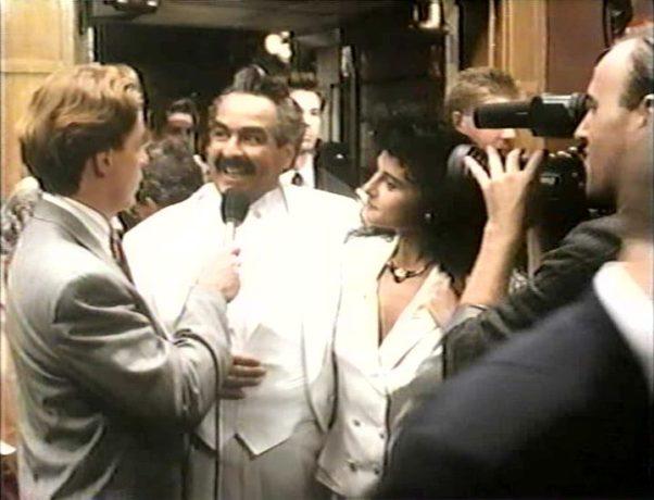 Raymond Bouchard dans Ding et Dong le film - Soir de première pour l'impresario