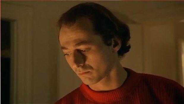 Image du célèbre comédien québécois Luc Picard dans le film <em>Doublures</em> de Michel Murray (image tirée du film, coll. filmsquebec.com)