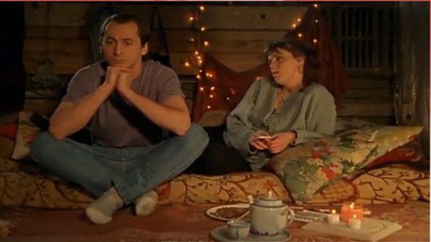 Luc Picard et Christine Séguin dans le film <em>Doublures</em> de Michel Murray (image tirée du film)