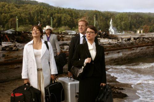 Anick Lemay, Julie McClemens et François Massicotte dans Duo (R. Ciupka, 2006)