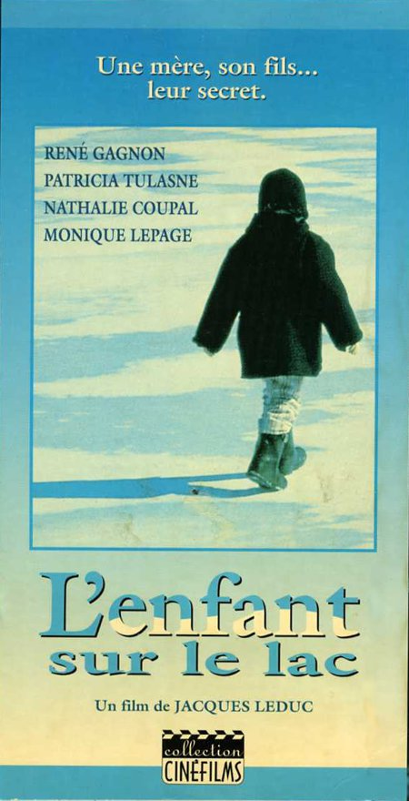 Jaquette VHS du film L'enfant sur le lac (collection filmsquebec.com)
