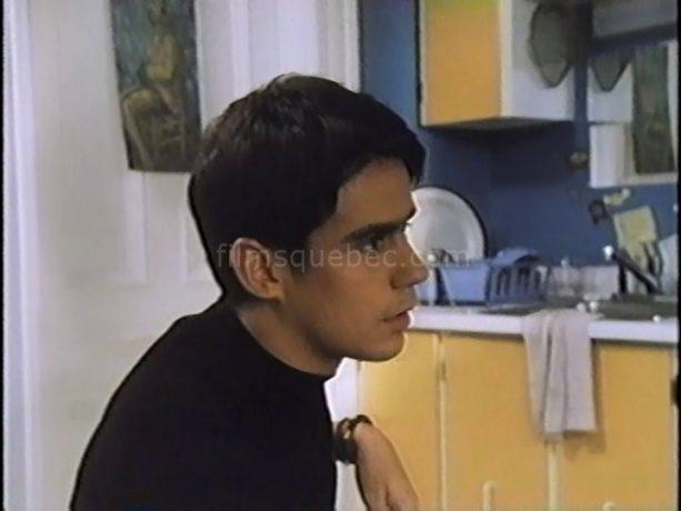 Robin Aubert dans L'escorte de Denis Langlois (capture VHS)