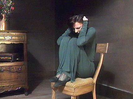 Image de la comédienne Anne Létourneau dans La fenêtre (Image tirée du film)