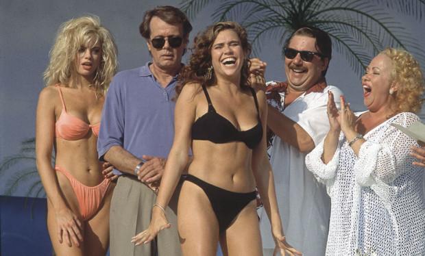 Image du film La Florida (Marie-José Croze au centre, Rémy Girard à droite / George Mihalka, 1993)