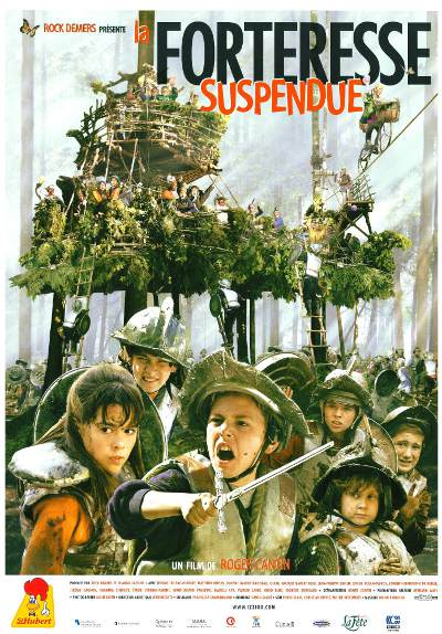 Affiche du film La forteresse suspendue (2001, Roger Cantin, Productions La Fête)
