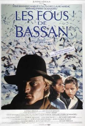 Affiche québécoise du film Les fous de bassan (Simoneau, 1986, Alliance)