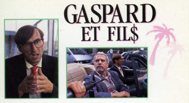 Visuel du film Gaspard et fils de François Labonté (extrait de la pochette de la VHS - ©filmsquebec.com)