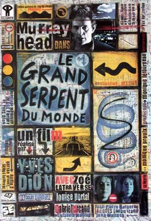 Affiche du film Le grand serpent du monde