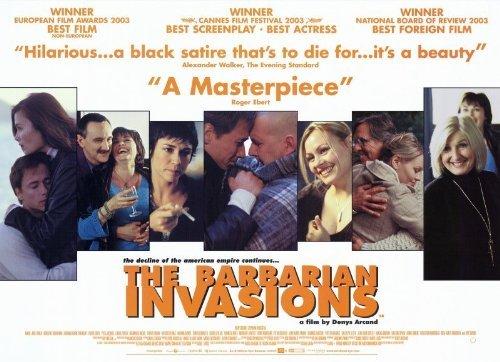 Teaser publicitaire américain du film Les Invasions barbares (Arcand, 2003 - Cinémaginaire)