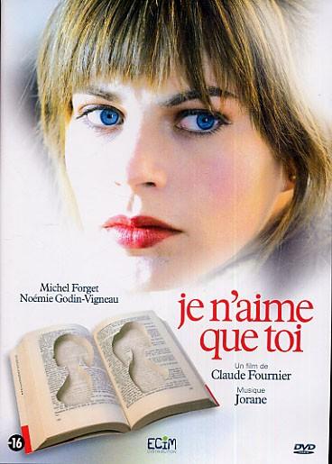 Pochette DVD française du film Je n'aime que toi de Claude Fournier