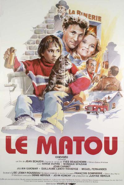 Affiche du film de Jean Beaudin Le Matou (Alliance)