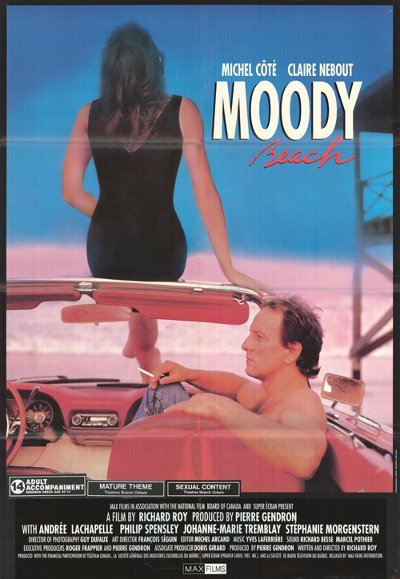 Affiche du film Moody Beach de Richard Roy