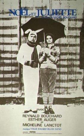Affiche du film Noël et Juliette (M. Bouchard, 1973 - Coll. Cinémathèque québécoise)