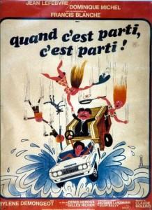 Affiche du film Quand c'est parti, c'est parti (version française de J'ai mon voyage!)