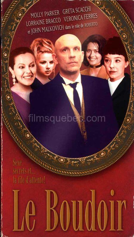 Jaquette VHS de Ladies Room de Gabriella Cristiani en version française : Le Boudoir