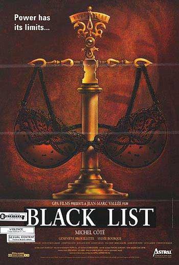 Affiche anglophone du film Liste Noire de Jean-Marc Vallée (source movieposters.com)