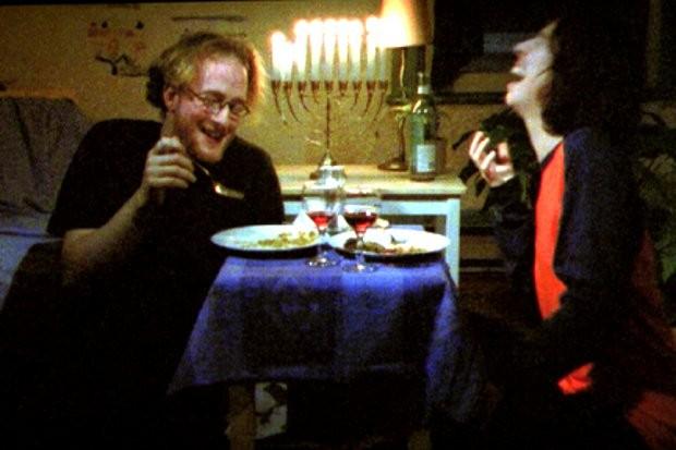 Image des deux comédiens Frédéric Desager et Alexandrine Agostini dans Ma voisine danse le ska (source : Collection personnelle)