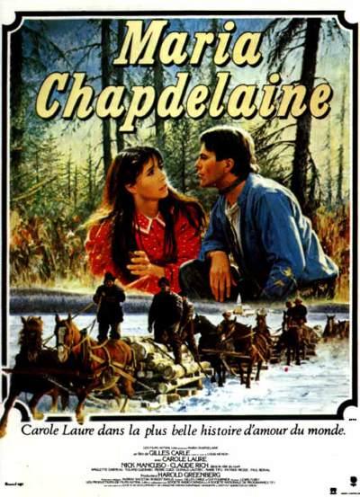 Affiche française de Maria Chapdelaine (Gilles Carle, 1983)