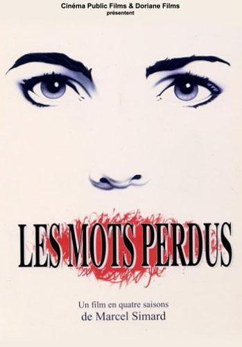 Couverture DVD du film Les mots perdus (Marcel Simard, 1993)
