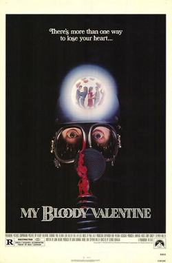 Affiche alternative du film My Bloody Valentine (George Mihalka, 1981)
