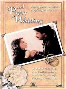 Couverture DVD américaine du film Les Noces de papier