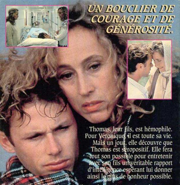 Image tirée de la jaquette VHS de Pour l'amour de Thomas (©filmsquebec.com)