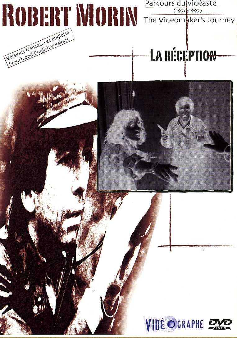 "Pochette DVD du film de Robert Morin ""La réception"" (Coll. filmsquebec.com)"