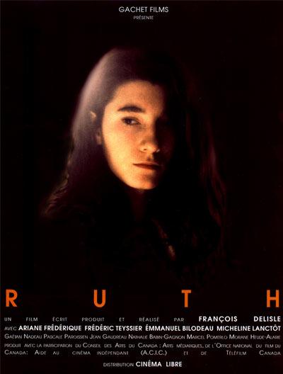 Affiche du film Ruth de François Delisle (Coll. personnelle)