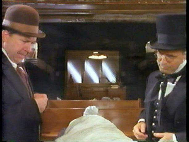 Rémy Girard et Luc Durand dans Le siège de l'âme (image tirée du film - Coll. filmsquebec.com)