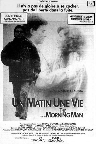 Encart du journal La Presse pour la promotion du film Un matin Une vie