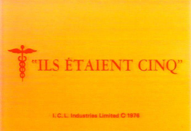 Ouverture du film Ils étaient cinq (VF de Rituals) - ©filmsquebec.com