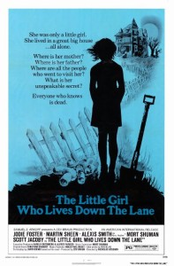 Affiche américaine du film The Little Girl Who Lives Down The Lane