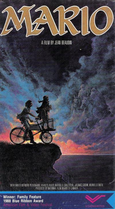 Jaquette VHS US du film Mario de Jean Beaudin
