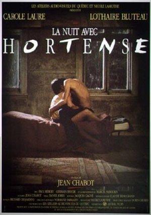 Affiche du film La Nuit avec Hortense (Jean Chabot, 1988 - Coll. Cinémathèque québécoise)