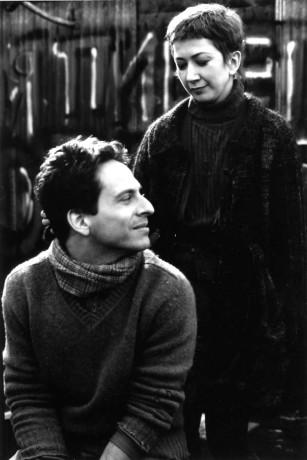 Image des deux comédiens Patrick Goyette et Marie Brassard dans Le Polygraphe de Robert Lepage (photo officielle fournie par la distribution - source image : Collection personnelle)